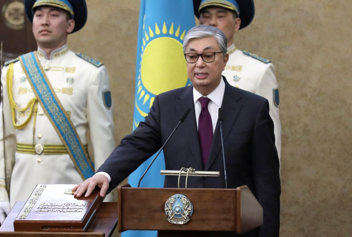 Tokayev sworn in as Kazakhstan