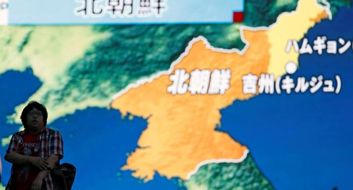 Detectan sismo de baja magnitud cerca del sitio norcoreano de pruebas nucleares