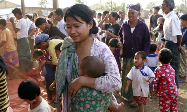 Kachin women from Myanmar  raped until they get pregnant   in China