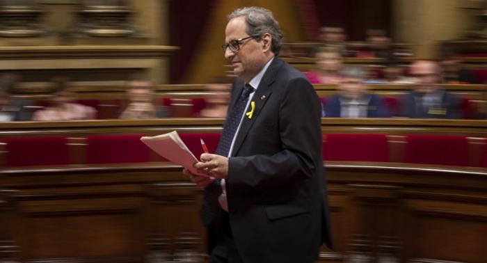 La Junta Electoral de España denuncia al presidente catalán por desobediencia