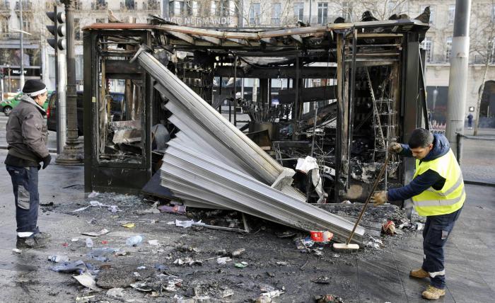 El Gobierno francés saca a los militares ante los 'chalecos amarillos'