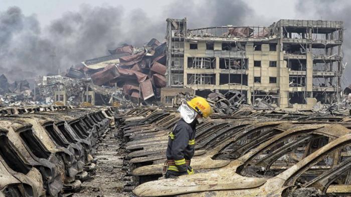 47 Tote und Massenevakuierung nach gewaltiger Chemie-Explosion in China - VIDEO