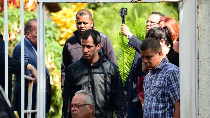 EU und USA fordernFreilassung von Guaidós Stabschef
