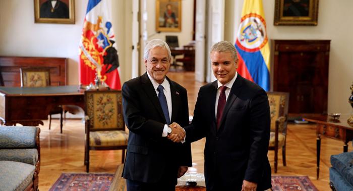 Iván Duque destaca liderazgo de Chile en la crisis venezolana