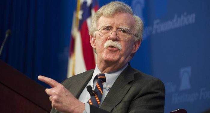 Bolton sostiene que las sanciones más duras contra Venezuela están por llegar