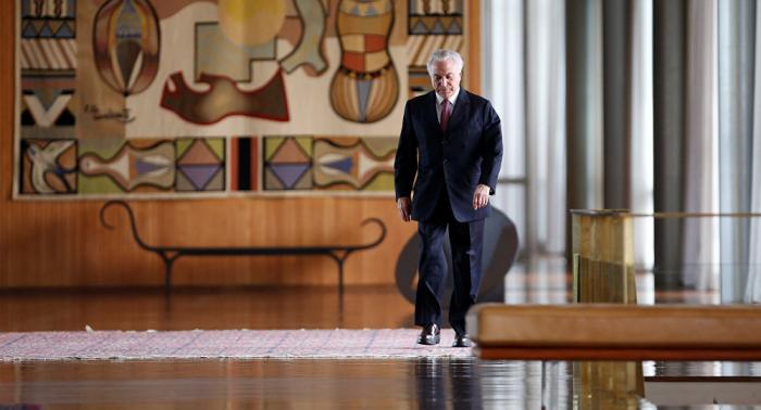 """Michel Temer considera su detención una """"barbaridad"""""""