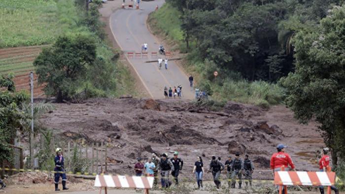 Braziliyada bəndin uçması nəticəsində 212 nəfər ölüb