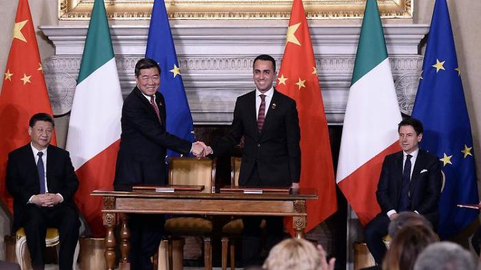 Maas kritisiert Italiens China-Offerte