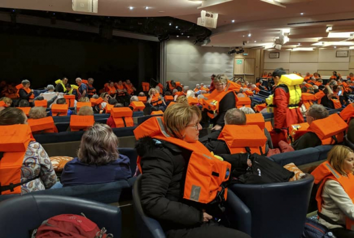 More video emerges of chaos on board Norway shiP-   NO COMMENT