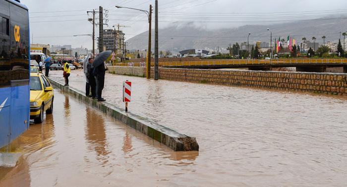 Aumenta el número de muertos por las inundaciones en Irán
