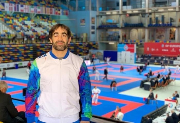Rafael Ağayev Avropa çempionatının finalında