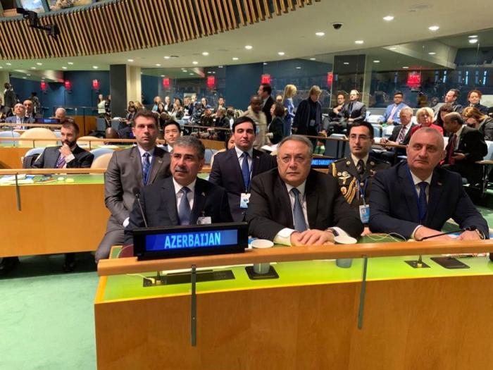 Le ministre de la Défense a participé à une réunion des Nations Unies -   PHOTO