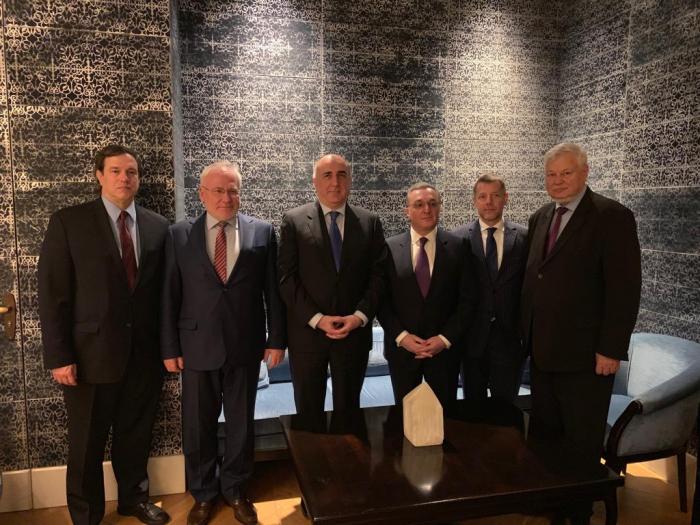 Azerbaijani, Armenian FMs meet in Vienna - UPDATED