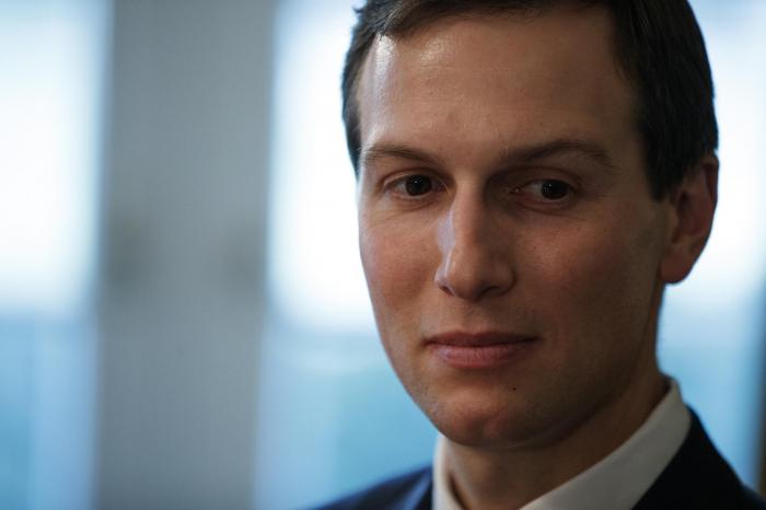 Jared Kushner seen leaving secret Senate Intelligence Committee