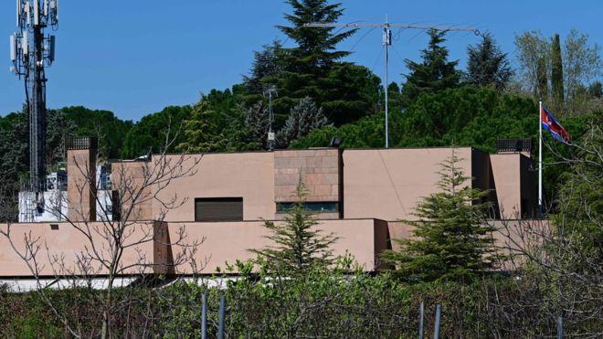 North Korea says Madrid embassy raid was