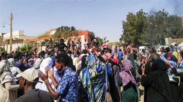 تظاهرة جديدة في الخرطوم تزامناً مع أداء الحكومة الجديدة اليمين