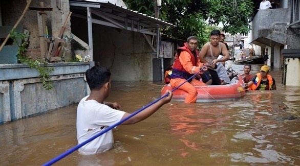 50 قتيلاً على الأقلّ جراء فيضانات في إندونيسيا