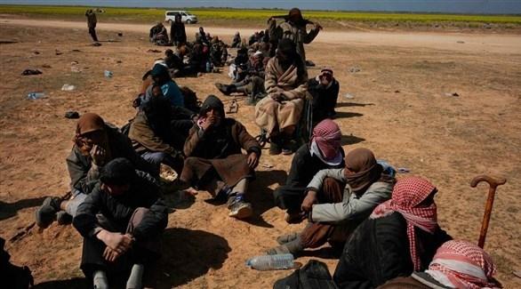 قسد: فرار 60 ألفاً معظمهم مدنيون من آخر جيب لداعش