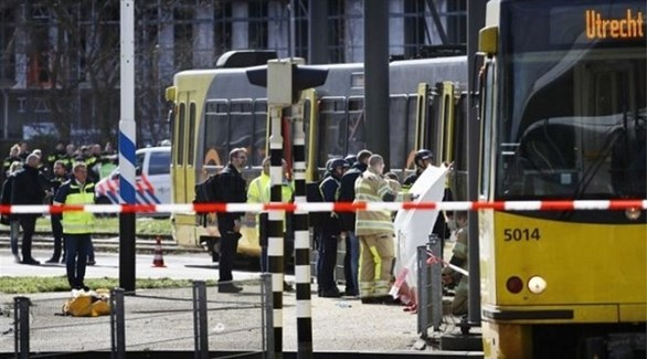 هولندا: اعتقال مشتبه به ثالث بعد إطلاق النار في أوتريخت