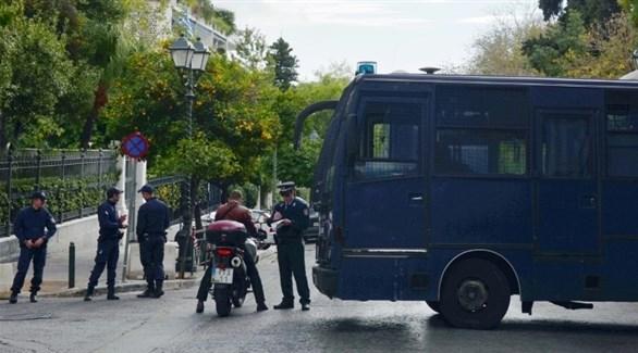 إلقاء قنبلة يدوية على القنصلية الروسية في اليونان
