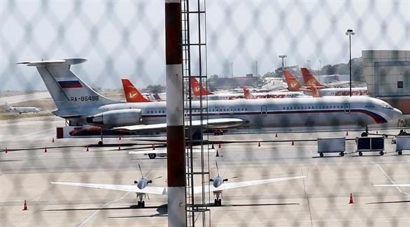 طائرتان عسكريتان روسيتان تهبطان في فنزويلا