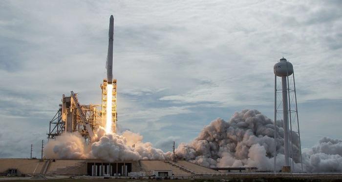 Décollage réussi de la fusée SpaceX