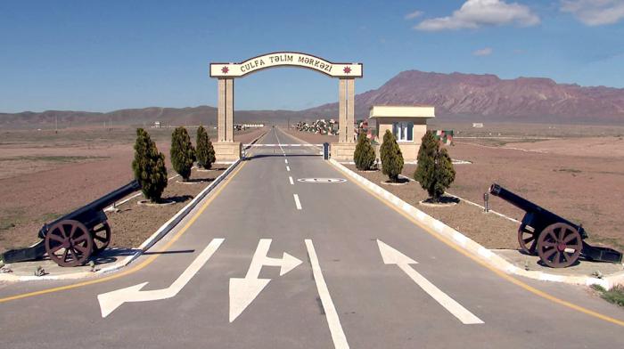 Yeni səhra təlim mərkəzi istifadəyə verildi - VİDEO