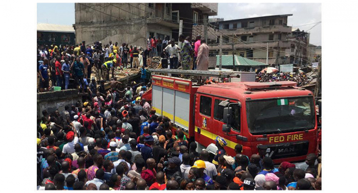 مقتل 9 أشخاص على الأقل إثر انهيار مبنى جنوب غربي نيجيريا