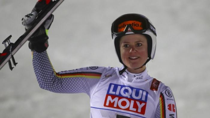 Viktoria Rebensburg gewinnt Super G