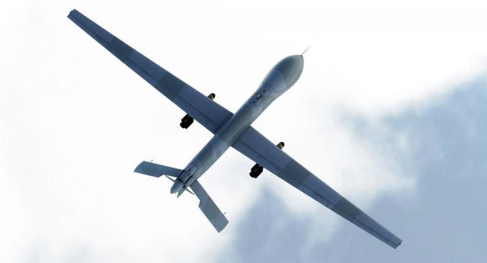 """الطائرة التركية """"أنكا أكسونجر"""" تحلق في الجو لأول مرة (فيديو)"""
