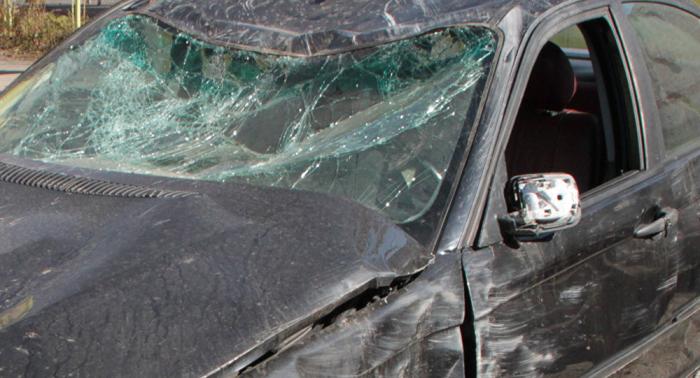 Goranboyda dəhşətli qəza - 2 nəfər yanaraq öldü