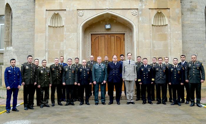NATO held training courses in Baku