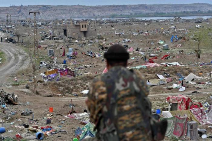 Syrie:   9000 proches de djihadistes dans un camp de déplacés