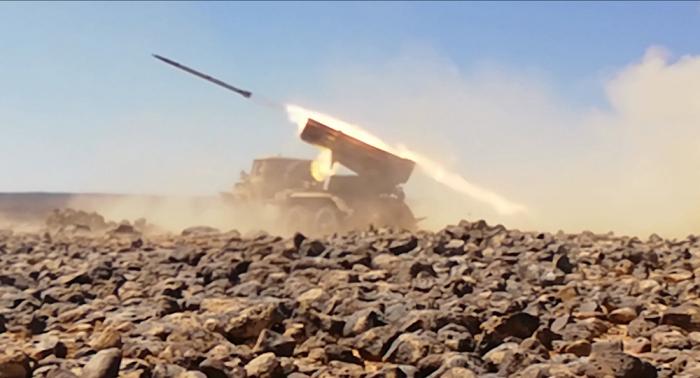 """الجيش السوري يقضي على مجموعات من """"داعش"""" و""""كتائب العزة"""" في ريفي السويداء وحماة"""