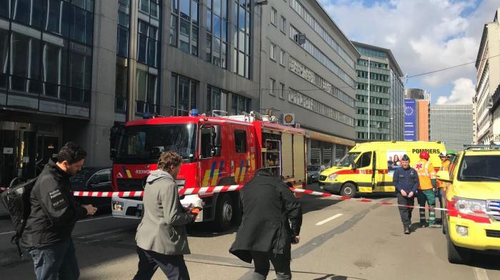 Alerte à la bombe dans le quartier européen à Bruxelles