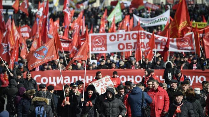 Russie: manifestations contre le Kremlin à l