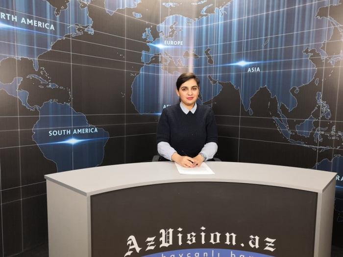AzVision TV releases news edition of news in English for March 4 -  VIDEO