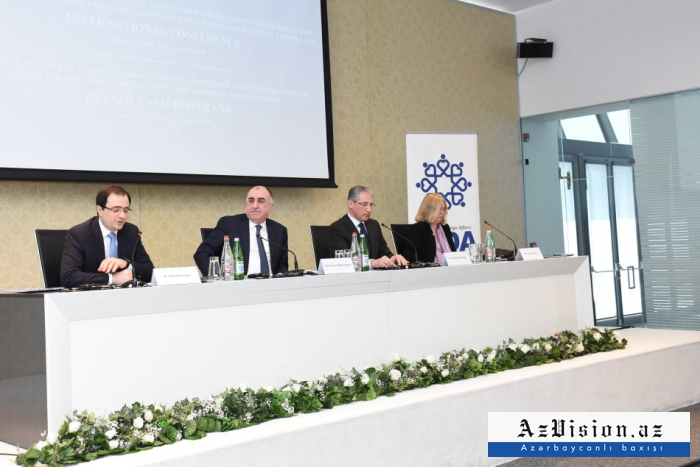 Baku hosts international conference on prevention of illegal activity in occupied lands - PHOTOS
