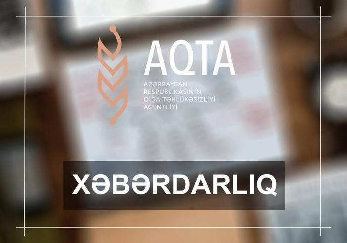 AQTA saxta sertifikatlarla bağlı xəbərdarlıq etdi