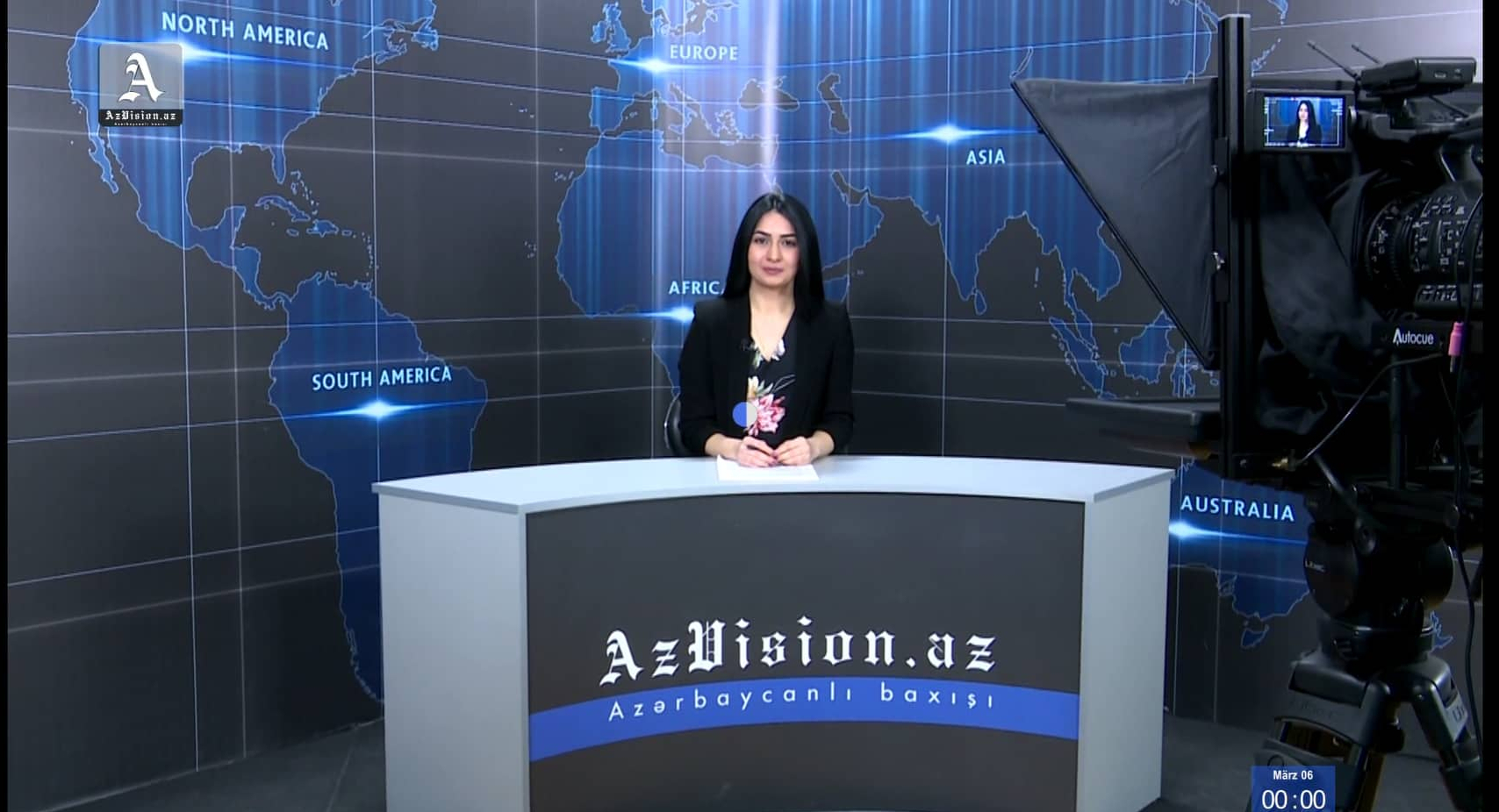 AzVision TV releases new edition of news in German for March 6 -  VIDEO