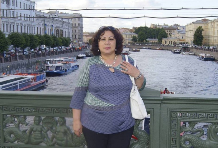 Sankt-Peterburq Dövlət Universitetinin azərbaycanlı müəllimi - FOTO