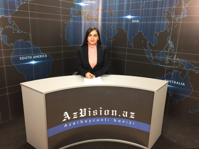 AzVision TV releases news edition of news in English for March 11 -  VIDEO