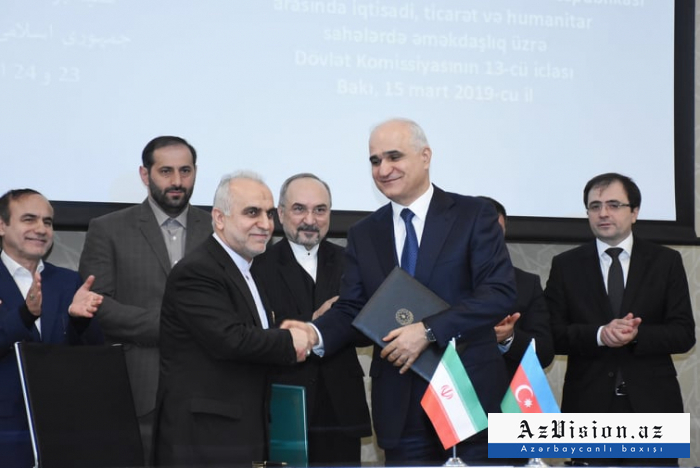 L'Azerbaïdjan etl'Iran signent une série de documents - PHOTOS