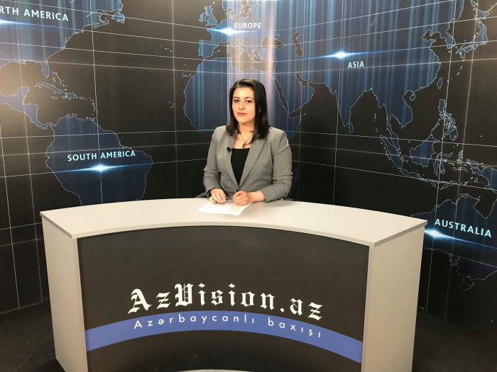 AzVision TV releases news edition of news in English for March 12 -  VIDEO