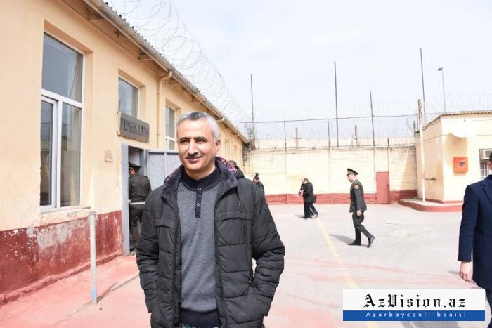 Fuad Qəhrəmanlı da azadlığa buraxıldı - FOTOLAR