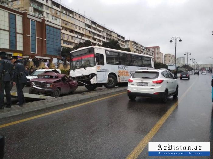 BNA: Avtobus qəzası ilə bağlı araşdırma aparılır