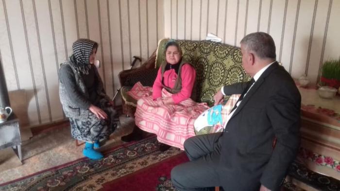 Nazirlik Novruzova bacılarına yardım etdi - FOTO