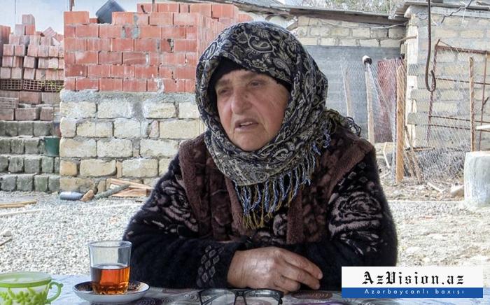 """""""Prezident soruşdu, nəyə ehtiyacın var? Dedim ki..."""" - Həcər nənə (VİDEO)"""