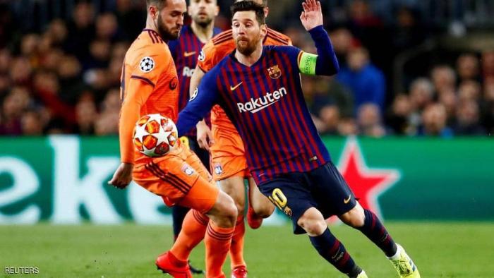 برشلونة في ربع النهائي للمرة الـ12 تواليا بفضل ميسي