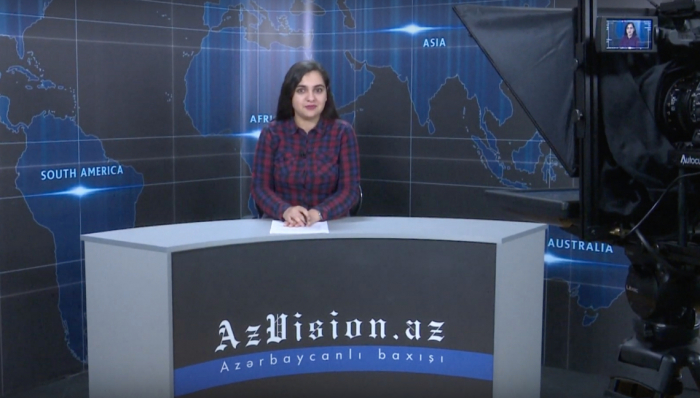 AzVision TV releases news edition of news in English for March 27 -  VIDEO
